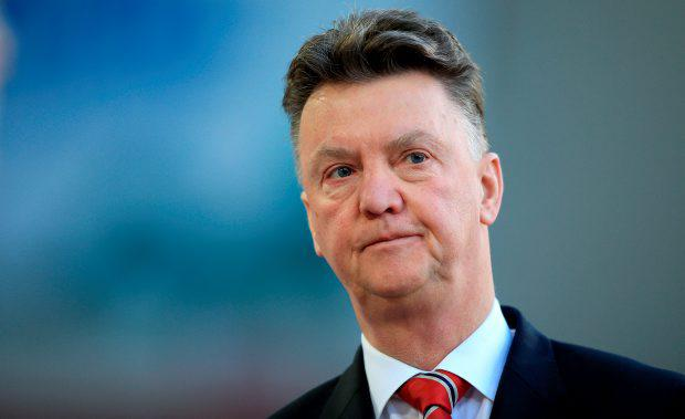 Manchester United manager Louis van Gaal