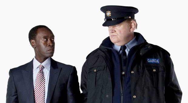 Don Cheadle and Brenan Gleeson star in The Guard