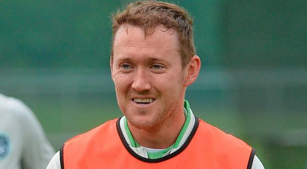Everton manager Roberto Martinez has insisted that Aiden McGeady remains in his plans.