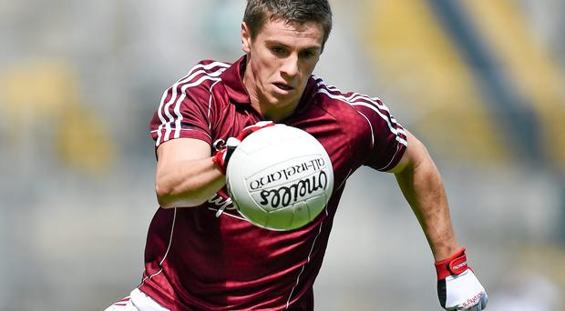 Shane Walsh suffered a suspected broken finger and wrist in the collision