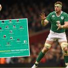 Ireland's Jamie Heaslip makes the Twitter Dream 15