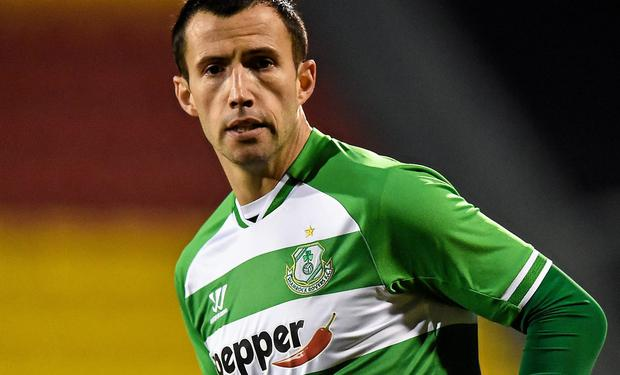 Keith Fahey will be hoping to pull midfield strings for Shamrock Rovers