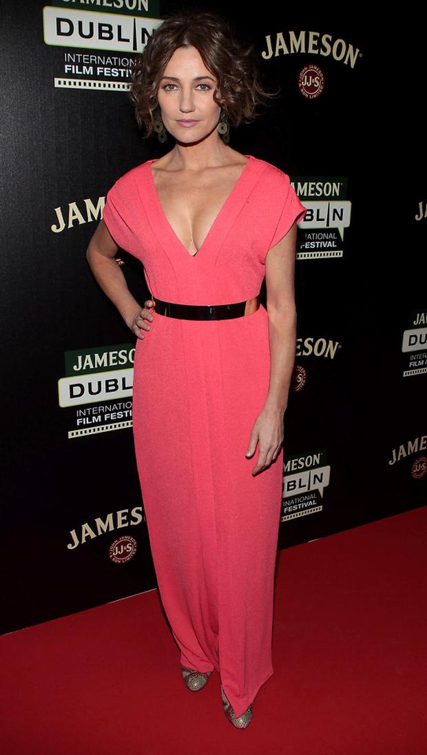 Actor Orla Brady at the screening of