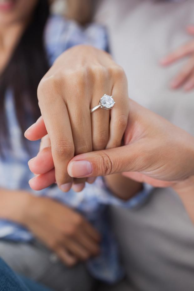 If you want your marriage to last put an 1000 ring on it