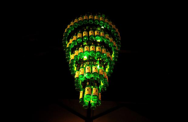 RING OF CORK. Jameson Distillery Chandelier Midleton 2.JPG