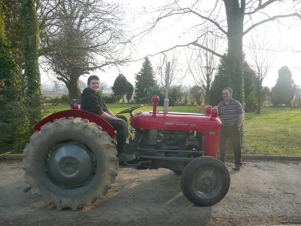 Darren Shanahan (14) was tragically killed in an accident on the family farm