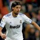 Real Madrid star Sami Khedira