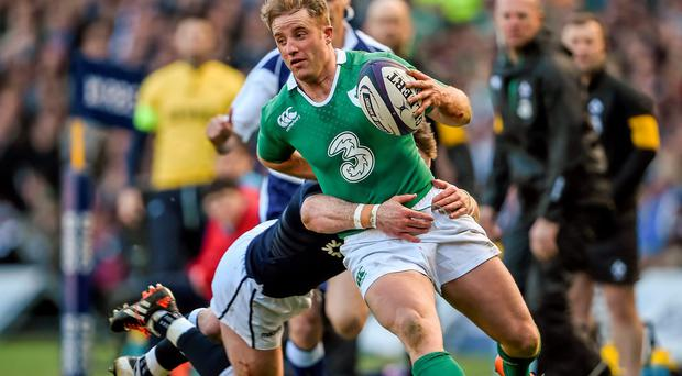 Neil Francis has chosen Luke Fitzgerald on the left wing for his World Cup selection.