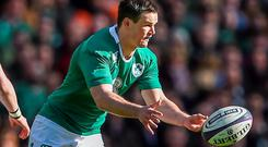 Jonathan Sexton put two misses in the delete bin and went on to kick amazingly for Ireland in the last few minutes when his body went into spasm