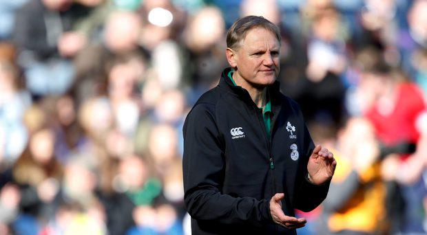 Ireland's head coach Joe Schmidt