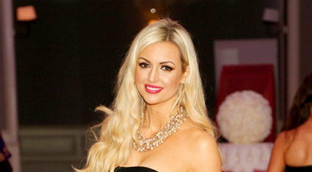 Rosanna Davison at the Image Business of Beauty Awards 2015 at the DoubleTree by Hilton Hotel