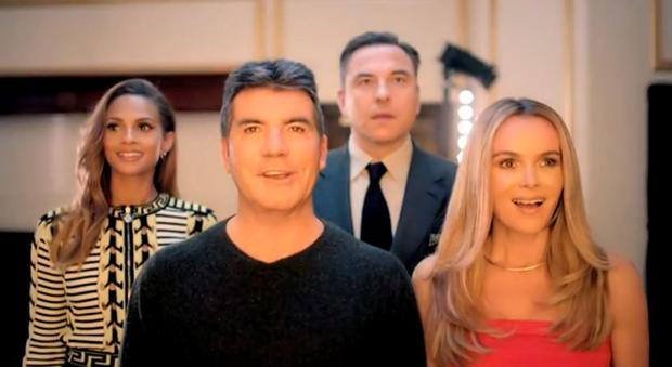 Britain's Got Talent is on the way back: Alesha Dixon, Simon Cowell, David Walliams, Amanda Holden