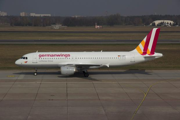 A Germanwings Airbus A320 registration D-AIPX is seen at the Berlin airport in this March 29, 2014 file photo