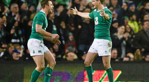 Jonathan Sexton and Tommy Bowe are two of the six Irish players chosen by Will Greenwood in his Six Nations Team of the Tournament