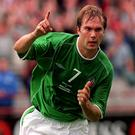 Jason McAteer's glorious goal against the Netherlands in 2001 feels a long time