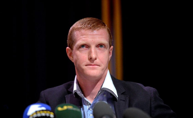 Henry Shefflin at today's press conference. Picture credit: Matt Browne / SPORTSFILE