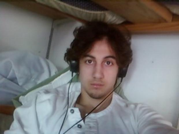 Dzhokhar Tsarnaev is pictured in this handout photo presented as evidence by the U.S. Attorney's Office in Boston, Massachusetts on March 23, 2015