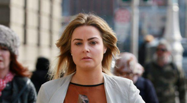 Blaise O Donnell, pictured leaving the Four Courts