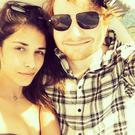 Ed Sheeran and Athina Andrelos. Picture: Instagram