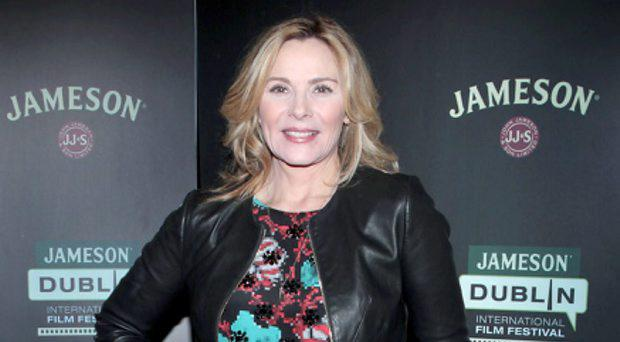 Kim Cattrall as she attended the Jameson Dublin International Film Festival screening of