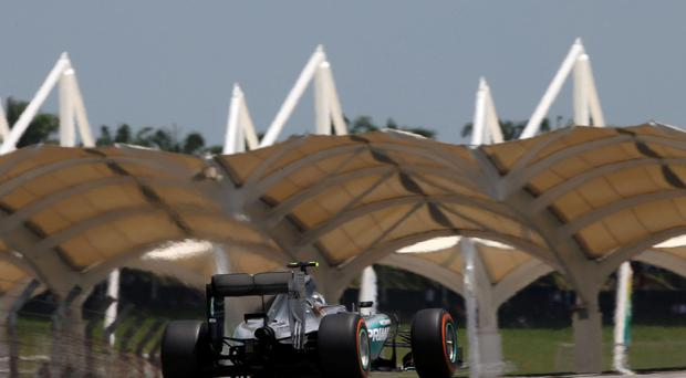 Mercedes' Lewis Hamilton in action during practice Action Images via Reuters / Hoch Zwei