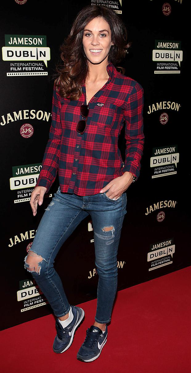 Glenda Gilson pictured at Cineworld in Dublin where she attended the Jameson Dublin International Film Festival screening of Saoirse Ronans film Lost River.