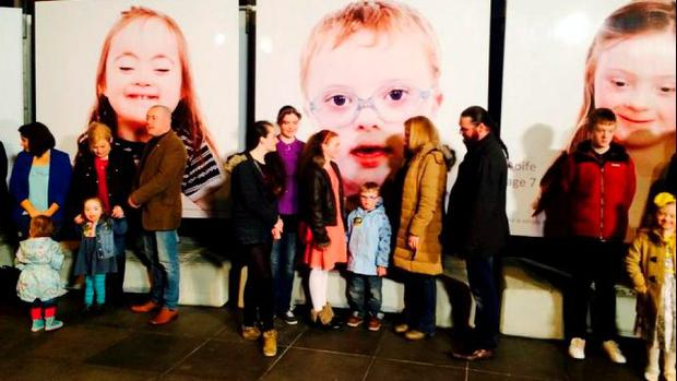 A photographic exhibition in the grounds of Dublin Castle to mark World Down Syndrome Day on March closes on Tuesday. It will then move to the grounds of Dun Laoghaire library until the end of April.