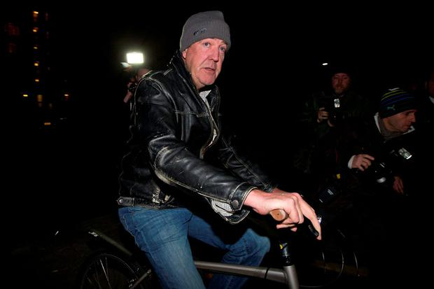 Sacked: Presenter Jeremy Clarkson's contract has not been renewed by the BBC. Photo: Getty.