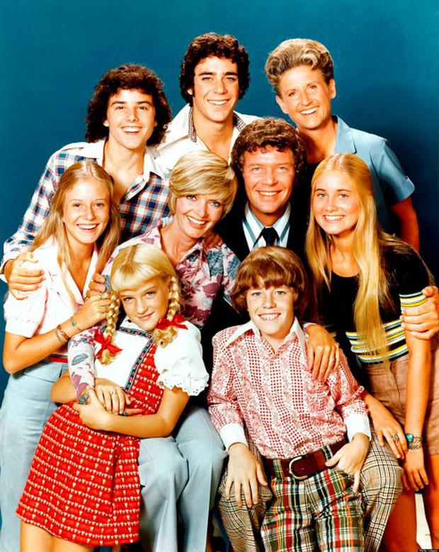 The blended family from the Brady Bunch.