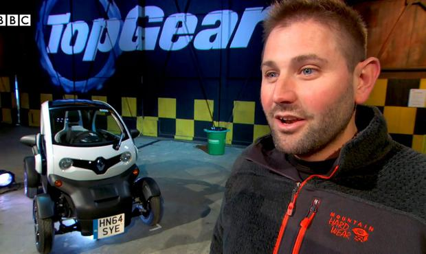 Top Gear producer Oisin Tymon who was punched by Jeremy Clarkson during a row over food