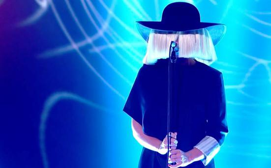 Sia on The Voice UK