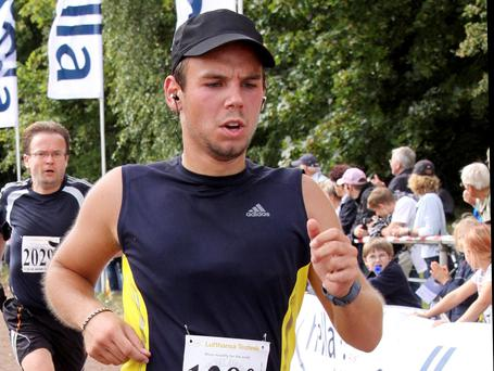 Andreas Lubitz, the rogue pilot who brought down a plane in the French Alps last week, lied to doctors by telling them he was on sick leave when he was still flying commercial airliners, according to German reports (AP Photo/Michael Mueller)