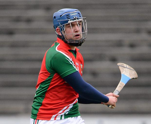 Top scorer Kenny Feeney (pictured) made the pass from which Padraig O'Flynn blasted home to secure victory for Mayo