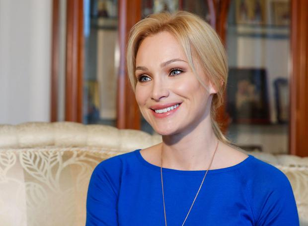 Model and former Mrs Globe Alisa Krylova is among Russia's super rich but even she and many of her wealthy friends are feeling the pinch from the economic crisis - driven into