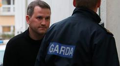 Graham Dwyer, 42, was convicted by unanimous verdict of stabbing 36-year-old Elaine O'Hara to death in the Dublin mountains in August 2012 (Niall Carson/PA Wire)