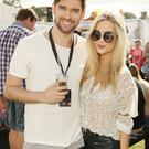 Eoghan McDermott and Laura Whitmore at the Casa BACARDi Arena at Electric