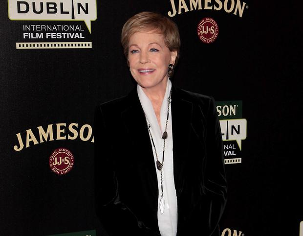 Julie Andrews pictured at The Savoy Cinema in Dublin where she attended the Jameson Dublin International Film Festival screening of The Sound of Music