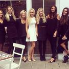 Nadia Forde and Debbie O'Leary at her hen this weekend