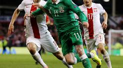 Ireland's Championship contingent, Including James McClean, will need the game-time against England on June 7 to fine tune for the visit of Scotland one week later