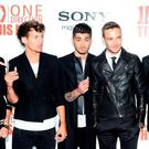 Niall Horan, Louis Tomlinson, Zayn Malik, Liam Payne and Harry Styles of One Direction