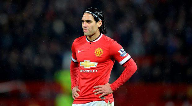 Manchester United's Radamel Falcao