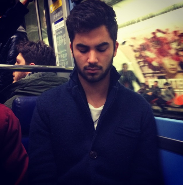 Eye Candy Hot French Men On The Metro Instagram Account -8750