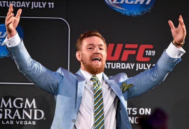 Conor McGregor is in Santa Monica preparing for his fight with Jose Aldo
