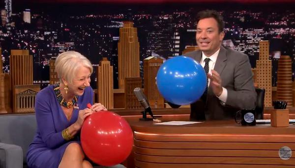 Helen Mirren on Tonight with Jimmy Fallon
