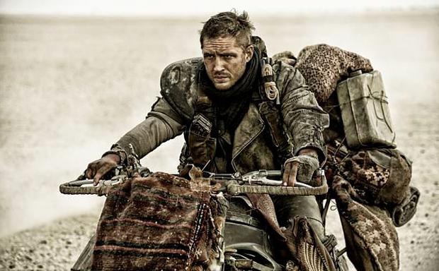 Tom Hardy (Peaky Blinders, The Dark Knight Rises) replaces Mel Gibson as Mad Max in the fourth instalment of the series. Photo: Warner Bros./Village Roadshow Films