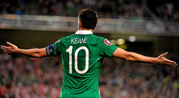 Robbie Keane failed to make much of an impact against Poland on Sunday