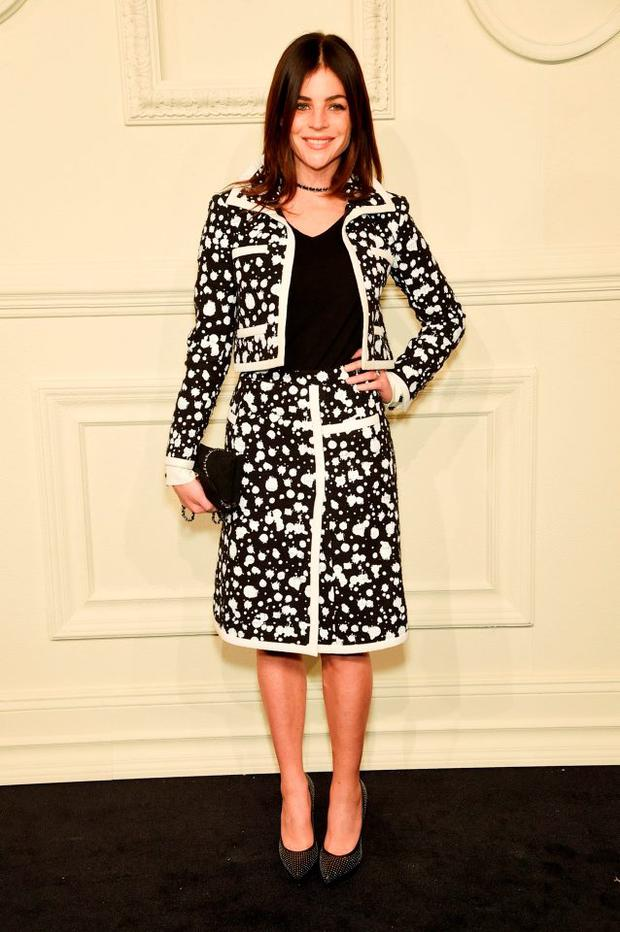 Julia Restoin Roitfeld attends the CHANEL Paris-Salzburg 2014/15 Metiers d'Art Collection at Park Avenue Armory