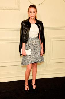 Dylan Penn attends the CHANEL Paris-Salzburg 2014/15 Metiers d'Art Collection at Park Avenue Armory
