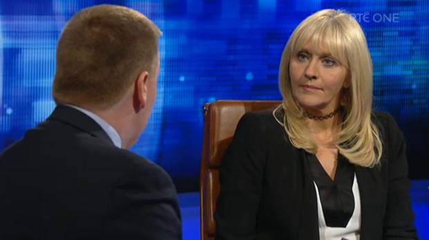Miriam O'Callaghan on Prime Time/ RTE One