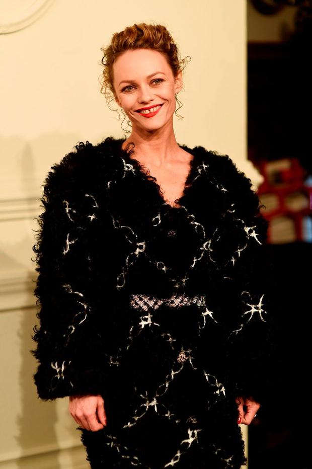 Vanessa Paradis attends the CHANEL Paris-Salzburg 2014/15 Metiers d'Art Collection at Park Avenue Armory